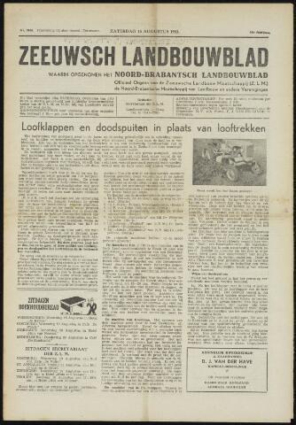 Zeeuwsch landbouwblad ... ZLM land- en tuinbouwblad 1953-08-15