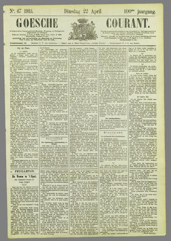 Goessche Courant 1913-04-22
