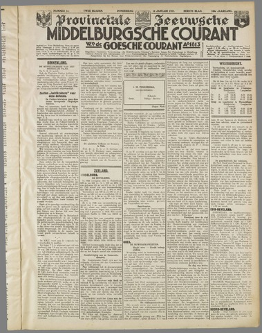 Middelburgsche Courant 1937-01-14