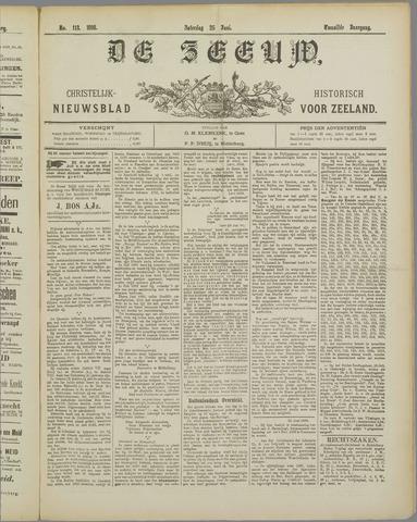 De Zeeuw. Christelijk-historisch nieuwsblad voor Zeeland 1898-06-25