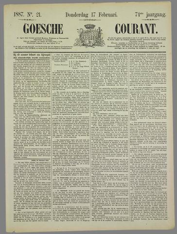 Goessche Courant 1887-02-17