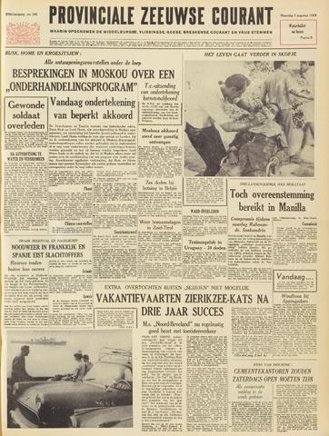 Provinciale Zeeuwse Courant 1963-08-05