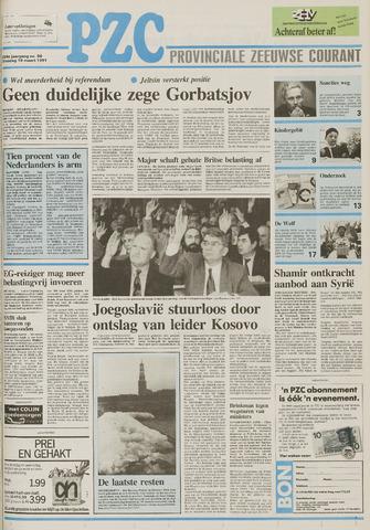 Provinciale Zeeuwse Courant 1991-03-19