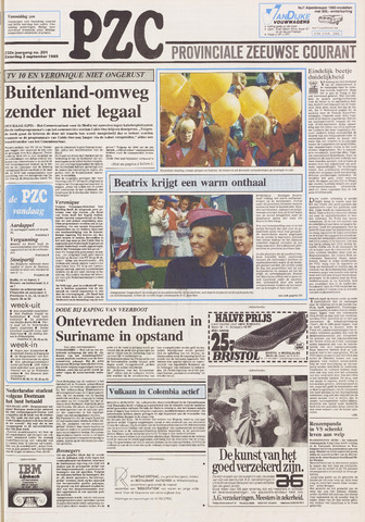 Provinciale Zeeuwse Courant 1989-09-02