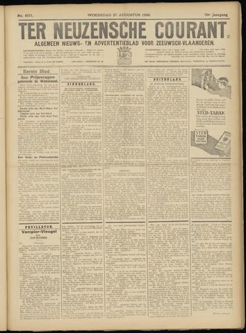 Ter Neuzensche Courant. Algemeen Nieuws- en Advertentieblad voor Zeeuwsch-Vlaanderen / Neuzensche Courant ... (idem) / (Algemeen) nieuws en advertentieblad voor Zeeuwsch-Vlaanderen 1930-08-27