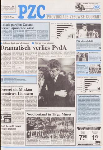 Provinciale Zeeuwse Courant 1990-03-22