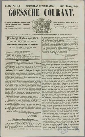 Goessche Courant 1865-02-23