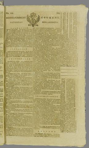 Middelburgsche Courant 1807-08-08