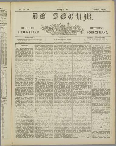 De Zeeuw. Christelijk-historisch nieuwsblad voor Zeeland 1898-07-05