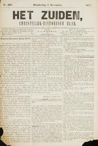 Het Zuiden, Christelijk-historisch blad 1877-11-01