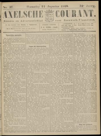Axelsche Courant 1918-08-14