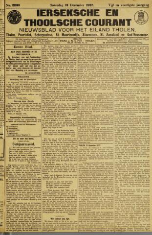 Ierseksche en Thoolsche Courant 1927-12-31