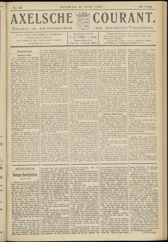Axelsche Courant 1927-06-21
