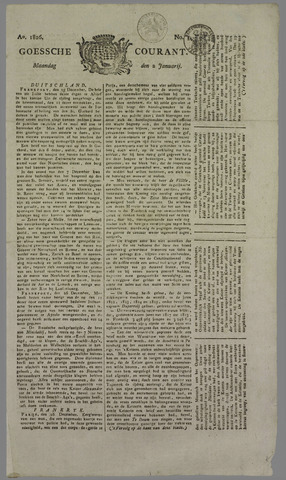 Goessche Courant 1826
