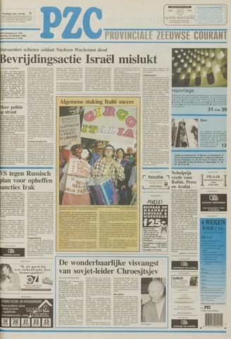 Provinciale Zeeuwse Courant 1994-10-15