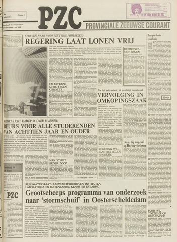 Provinciale Zeeuwse Courant 1974-12-07