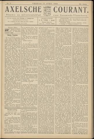Axelsche Courant 1938-04-15