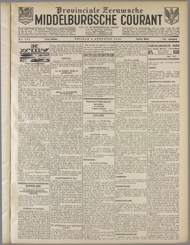 Middelburgsche Courant 1930-08-08