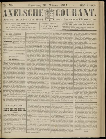 Axelsche Courant 1917-10-31