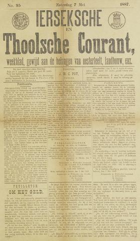 Ierseksche en Thoolsche Courant 1887-05-07