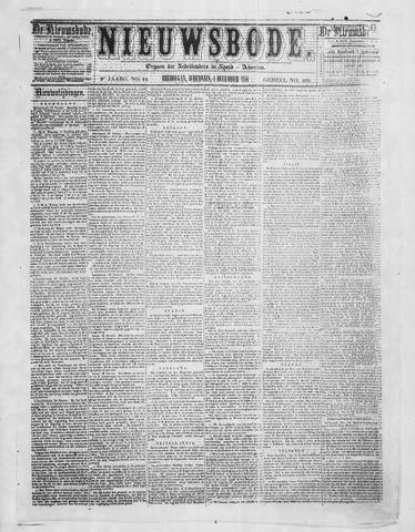 Sheboygan Nieuwsbode 1858-12-01