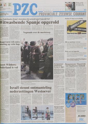 Provinciale Zeeuwse Courant 2005-03-14