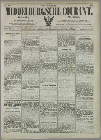Middelburgsche Courant 1891-03-25