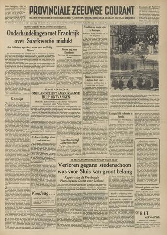 Provinciale Zeeuwse Courant 1952-04-24