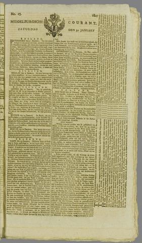Middelburgsche Courant 1807-01-31