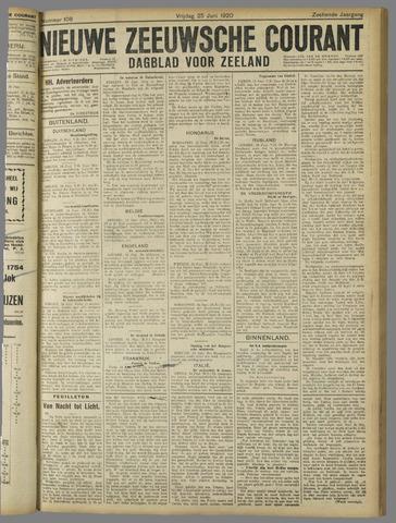 Nieuwe Zeeuwsche Courant 1920-06-25