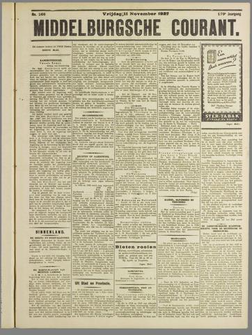Middelburgsche Courant 1927-11-11