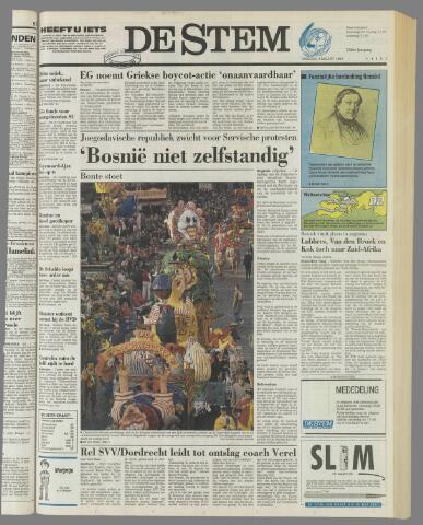de Stem 1992-03-03