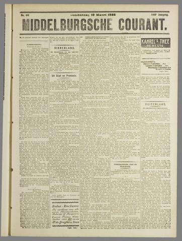Middelburgsche Courant 1925-03-19