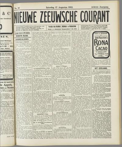 Nieuwe Zeeuwsche Courant 1912-08-17