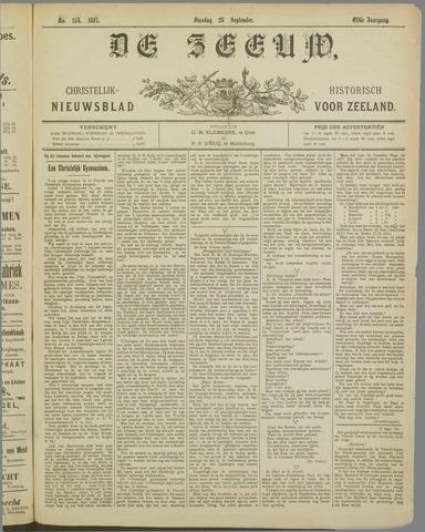 De Zeeuw. Christelijk-historisch nieuwsblad voor Zeeland 1897-09-28