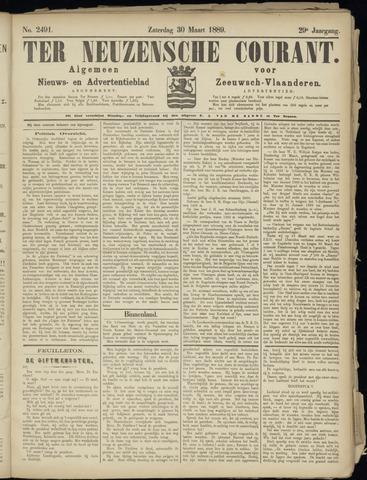 Ter Neuzensche Courant. Algemeen Nieuws- en Advertentieblad voor Zeeuwsch-Vlaanderen / Neuzensche Courant ... (idem) / (Algemeen) nieuws en advertentieblad voor Zeeuwsch-Vlaanderen 1889-03-30
