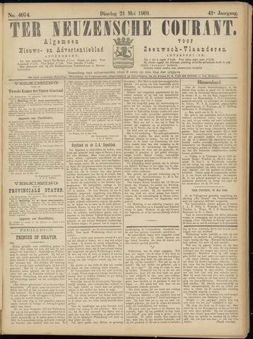 Ter Neuzensche Courant. Algemeen Nieuws- en Advertentieblad voor Zeeuwsch-Vlaanderen / Neuzensche Courant ... (idem) / (Algemeen) nieuws en advertentieblad voor Zeeuwsch-Vlaanderen 1901-05-21