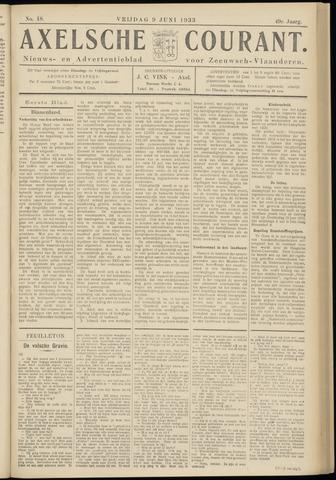 Axelsche Courant 1933-06-09
