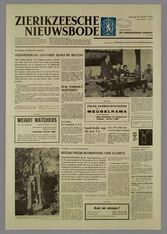 Zierikzeesche Nieuwsbode 1973-10-22