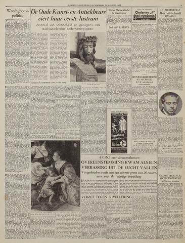 Watersnood documentatie 1953 - kranten 1953-08-26