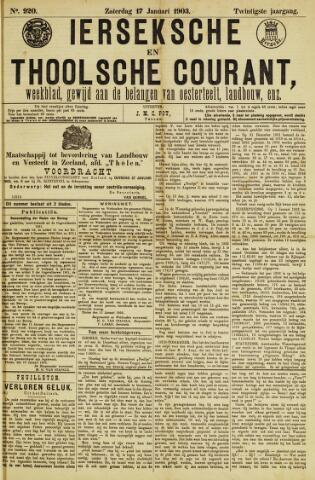 Ierseksche en Thoolsche Courant 1903-01-17