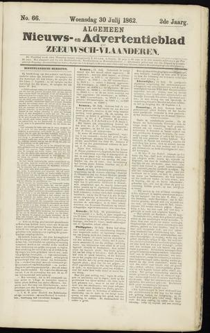 Ter Neuzensche Courant. Algemeen Nieuws- en Advertentieblad voor Zeeuwsch-Vlaanderen / Neuzensche Courant ... (idem) / (Algemeen) nieuws en advertentieblad voor Zeeuwsch-Vlaanderen 1862-07-30