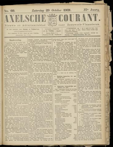 Axelsche Courant 1921-10-29