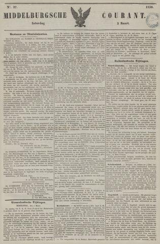 Middelburgsche Courant 1850-03-02