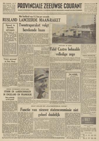 Provinciale Zeeuwse Courant 1959-01-03