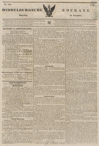Middelburgsche Courant 1844-11-12