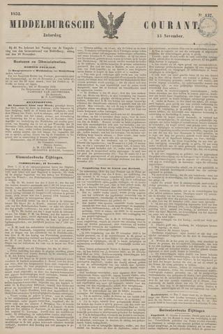 Middelburgsche Courant 1852-11-13