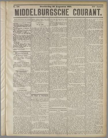 Middelburgsche Courant 1921-08-25
