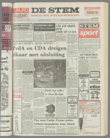 de Stem 1977-10-10