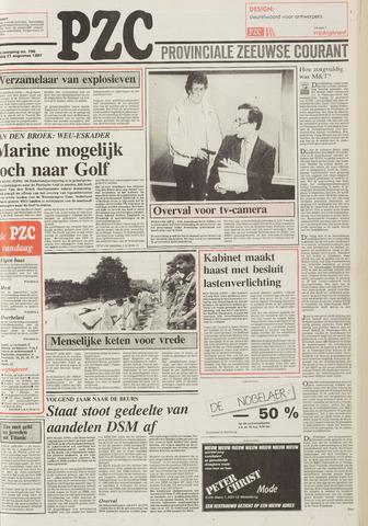 Provinciale Zeeuwse Courant 1987-08-21